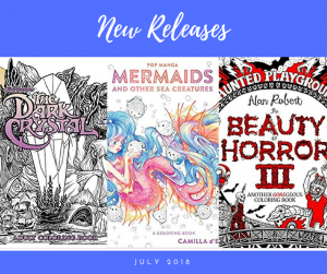 Coloring Books – New Releases – July – 2018