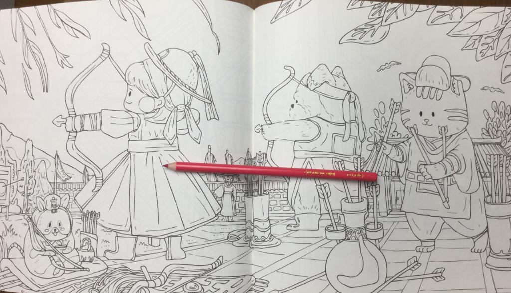 Daily Korean colouring book review 1024x587 - Daily Coloring Book Review