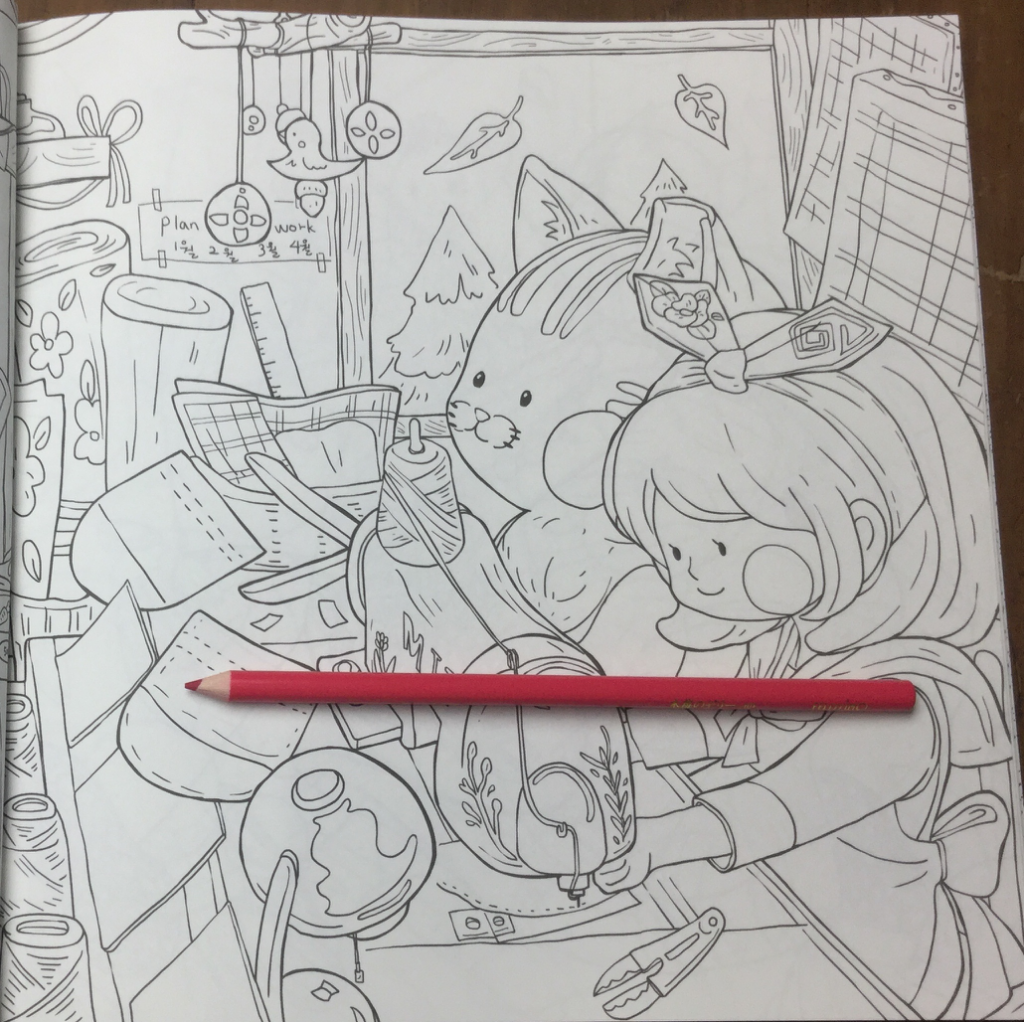 Daily colouring book review 1024x1022 - Daily Coloring Book Review