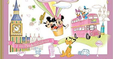 Japanese Disney 375x195 - World Travel Disney Painting  Coloring Book Review