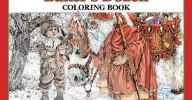 The Bakers Dozen coloring book cover art