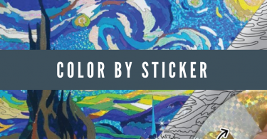 glintarts color by sticker 375x195 - Glintarts Twinkling Masterpiece Review and Giveaway
