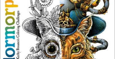 Colormorphia coloring book cover