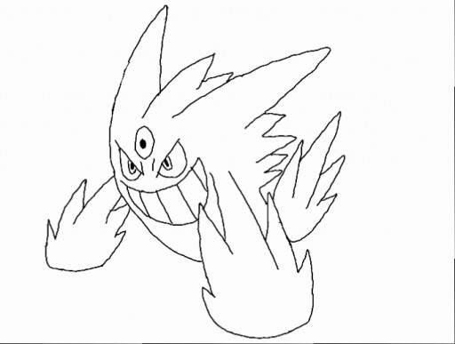 Coloring Pages Of Pokemon Mega