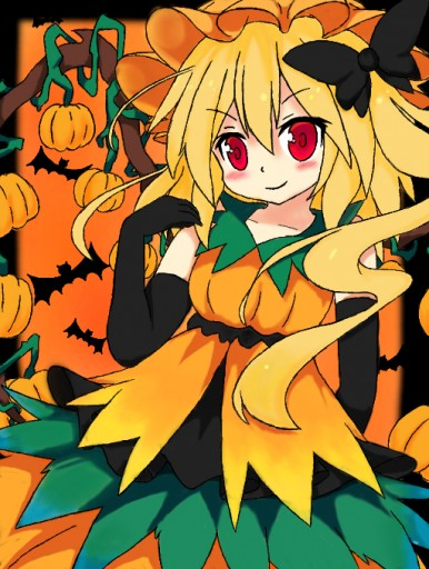 touhou flandre scarlet in a halloween costume by funnybombs - I Luv Halloween Manga