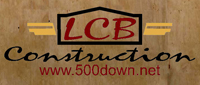Website for LCB Construction, Inc