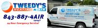 Website for Tweedy's Heating & Air, LLC