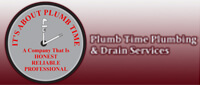 Website for Plumb Time Plumbing & Drain Service