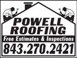 Website for Powell Roofing