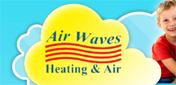 Website for Air Waves Heating & Air, Inc