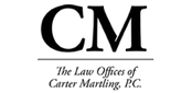 Website for The Law Offices of Carter Martling, PC
