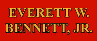 Website for E. W. Bennett, Jr Attorney at Law