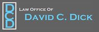 Website for Law Office of David C. Dick