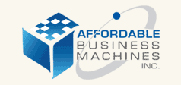 Website for Affordable Business Machines, Inc