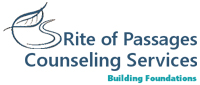 Website for Rite of Passages Counseling Services, LLC