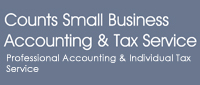 Website for Counts Small Business Accounting