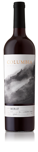 Columbia Valley Merlot Bottle Shot
