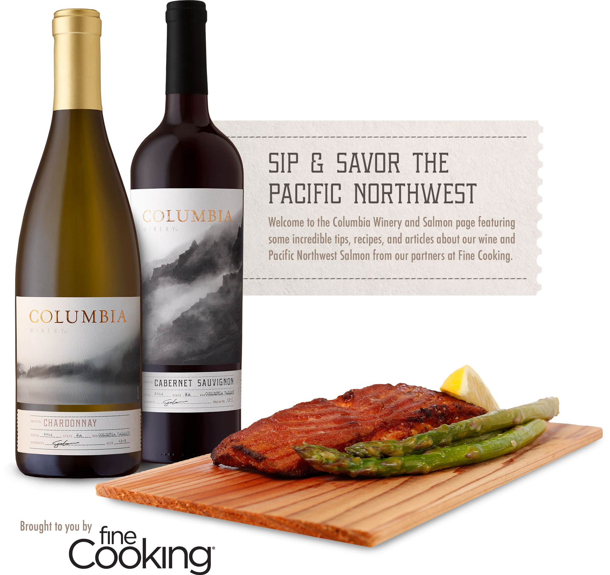 Sip & Savor the Pacific Northwest