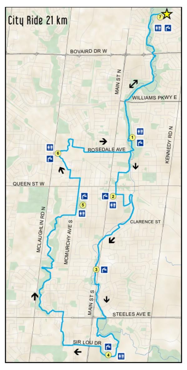 Bike the Creek - City Ride