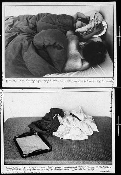 The Sleepers (Les Dormeurs), detail by Sophie Calle - Artwork We ...