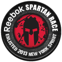 Tri-State, NY Spartan Sprint 2013 Enlisted Badge