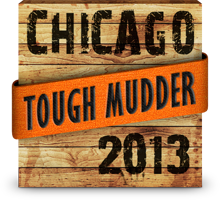 2013 Tough Mudder Chicago Finisher Badge