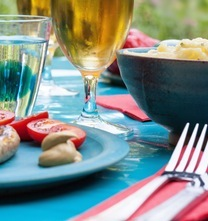 Food summer party dinner (1)