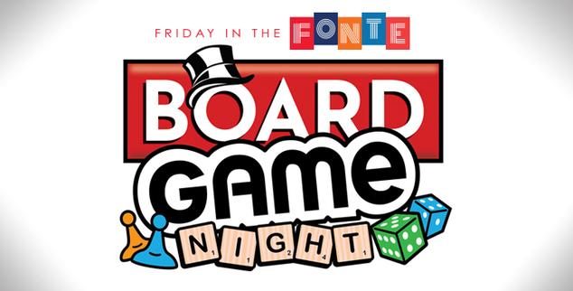 Fitf board game night