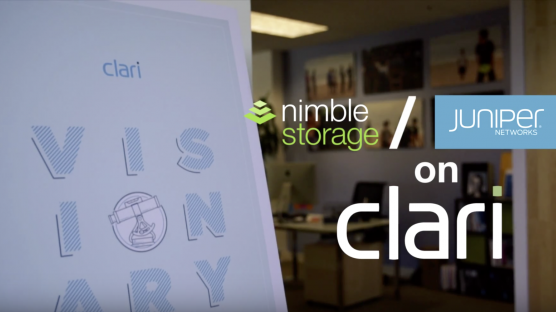 Why Try Clari - Nimble Storage and Juniper Networks