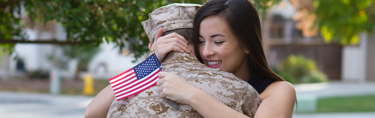 Stock photo 38473916 military man returns from deployment horizontal