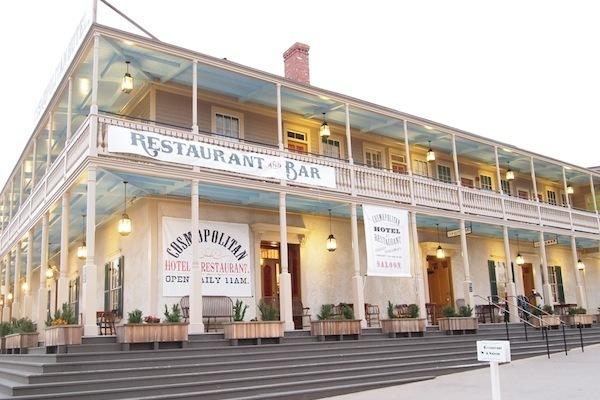 The Cosmopolitan Restaurant & Hotel