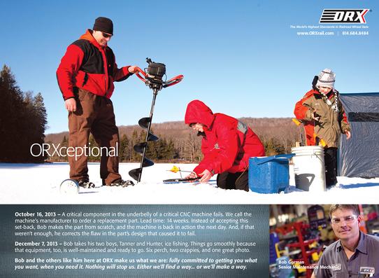 Orx icefishing