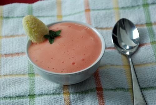 Versawhip peach foam