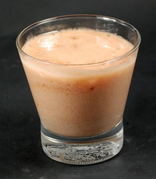 Orange froth foam 2