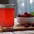 Raspberry infused vinegar