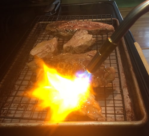 Torch meat