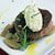 Filet blue cheese mousse top