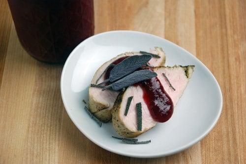 Turkey breast cranberry chutney