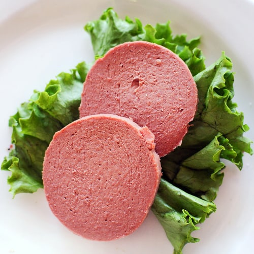 1294434 Liverwurst on oscar mayer bologna sandwich