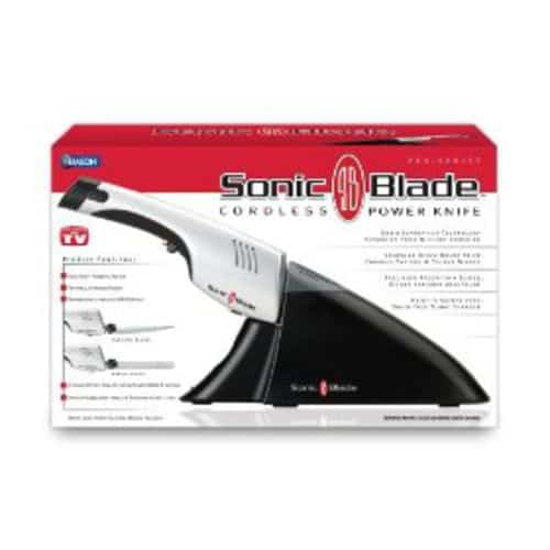 Sonic cordless knife