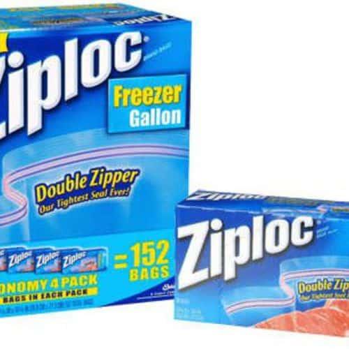 Ziploc gallon freezer 1