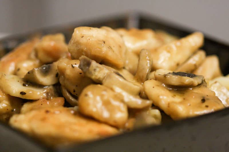 Sous Vide Chicken Marsala Recipe