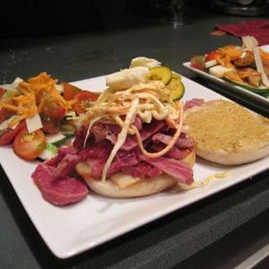 Sous vide pastrami sandwich
