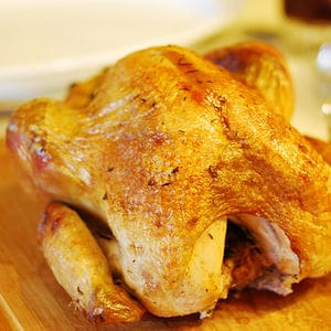 Sous vide turkey