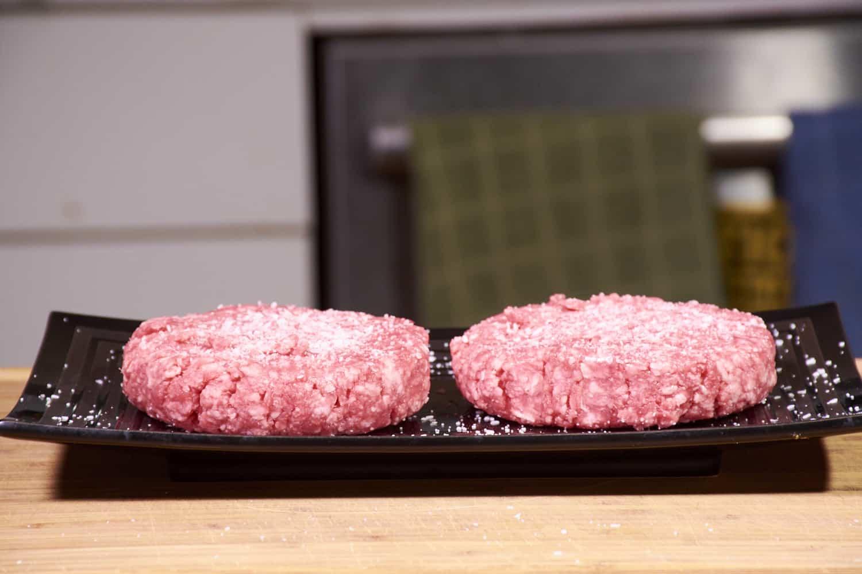 Sous vide hamburgers