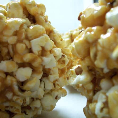 Popcorn ball recipes close
