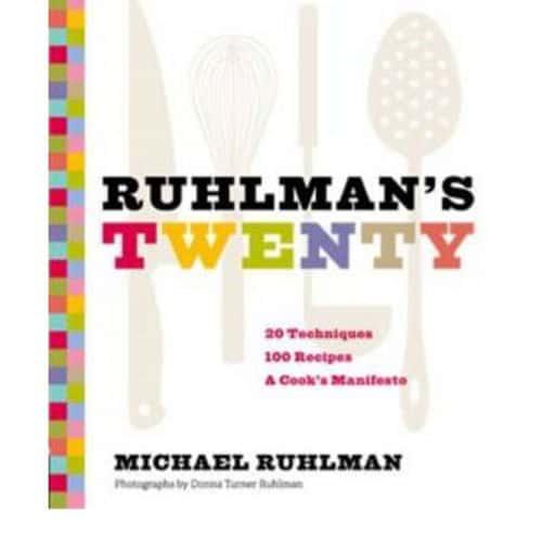 Ruhlman twenty   sq