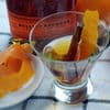 Orange cinnamon infused bourbon