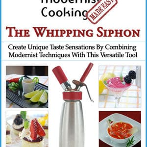 Whipping siphon cover medium