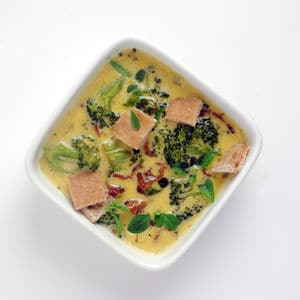 Bacon brocolli cheddar soup